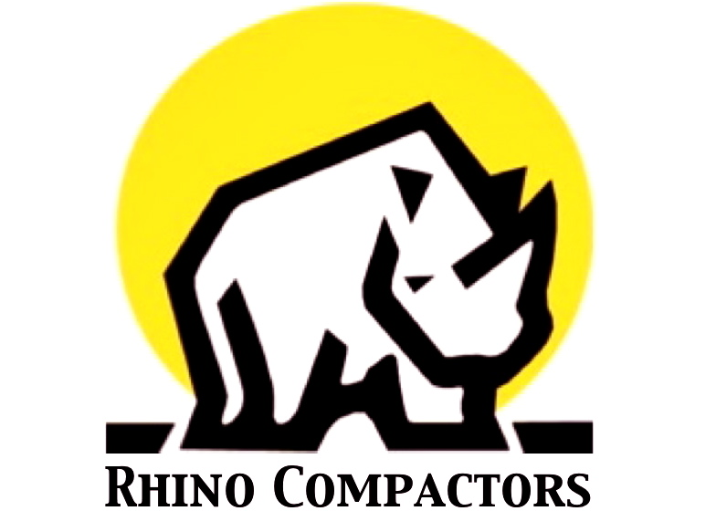 Rhino Compactors. Self Dumping Forklift Hoppers Dallas Fort Worth TX
