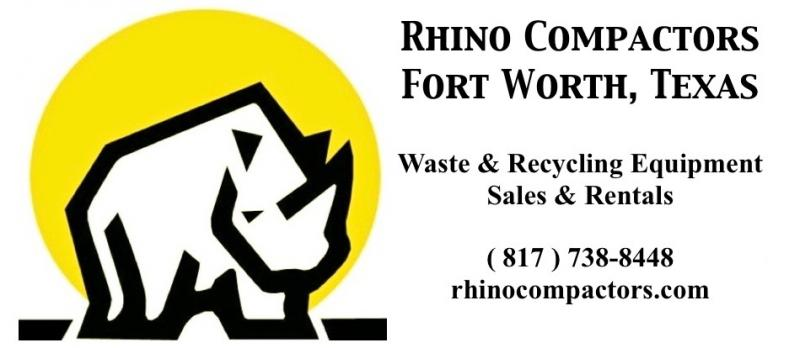 Rhino Compactors, Dallas, Texas Waste Compactors & Recycling Balers 817 738 8448